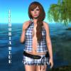 Euphoria Blue Minidress