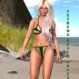 extreme beach green promo 1