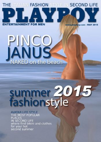 Pinco Janus su Playboy