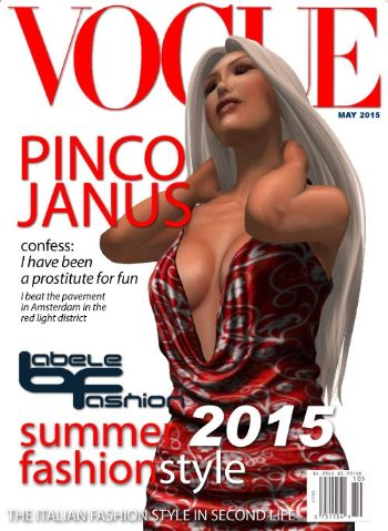 Pinco Janus su Vogue