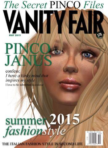 Pinco Janus su Vanity Fair