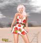 sea island dress fragole promo