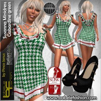 Vestito corto Susanna minidress