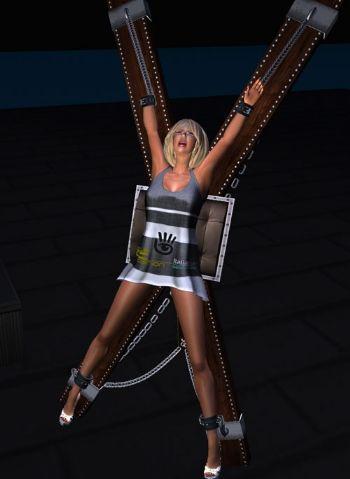 Tiki taki demo in una scena di sottomissione