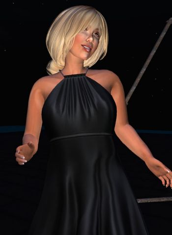 Mini abito Sole Nero