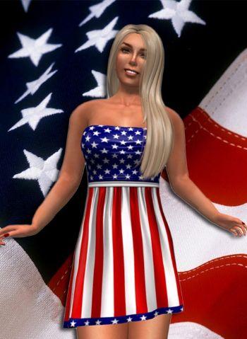[video] Il vestitino più americano che ci sia