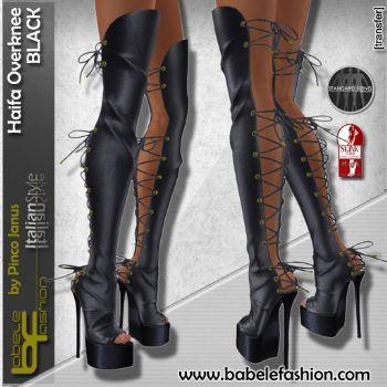 Haifa overknee boots