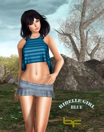 Babele Fashion Ribelle Girl Blue