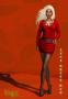 anna dress red promo