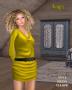 anna dress yellow promo