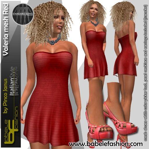 box valeria red bis