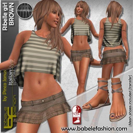 ribelle girl BROWN