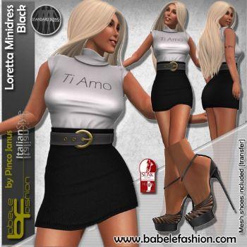 Loretta Casual Minidress