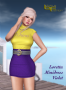 loretta minidress violet promo