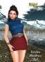 loretta minidress red promo