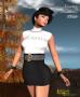 loretta minidress black promo