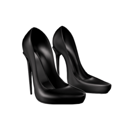 scarpette bimba black